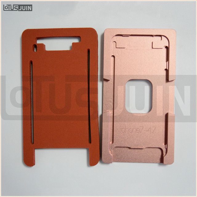 1pcs High Quality Position Glueing LCD Outer Glass Mold Holder For iphone 5 5s 6 6plus 7 7plus Positioning Alignment Mould