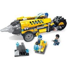 238 piezas 2019 nuevos juguetes educativos de bloques de construcción Compatible con amigos ingeniero serie Spar Rock drill Rig DIY figuras de ladrillo
