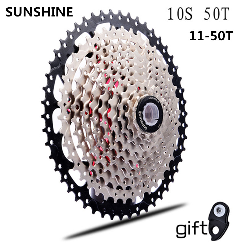 Sporting Goods Bicycle Components & Parts Ztto Mtb Bike 10 Speed 11-50t Ultralight Cassette Freewheel Bicycle Sprockets