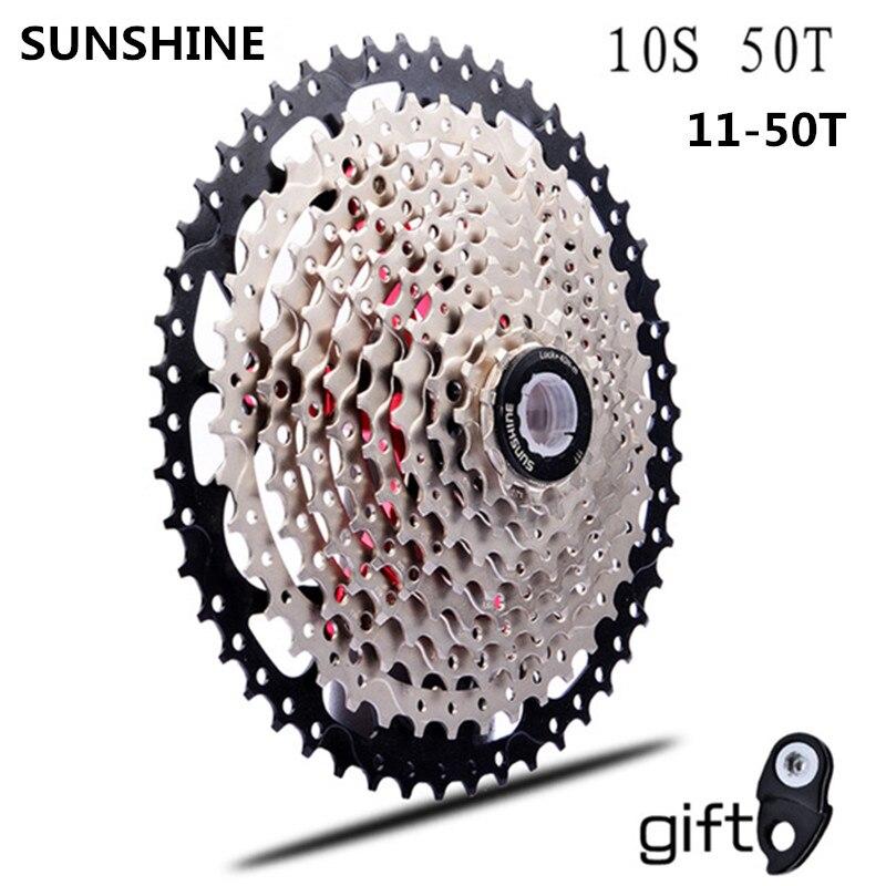11-50 T cassette 10 vitesses vtt vélo roue libre pignon cdg 50 T cog velocidade VTT roue libre ultraléger 583g vg 10