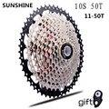 11-50T кассета 10 скоростной mtb велосипед freewheel Звездочка cdg 50T cog velocidade горный велосипед freewheel ultralight 583g vg 10