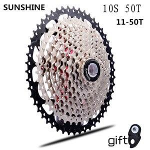 Image 1 - 11 50T kaset 10 hız mtb bisiklet freewheel dişli cdg 50T cog velocidade dağ bisikleti freewheel ultralight 583g vg 10