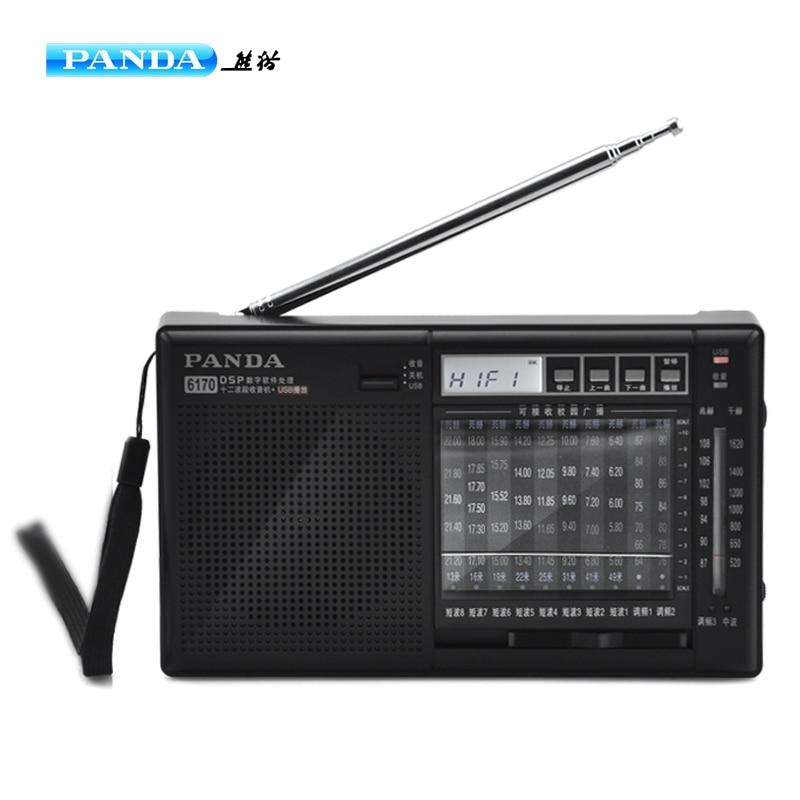 Tragbares Audio & Video Geschickt Panda 6170 Volle Band Semiconductor Stereo Plug-in Radio Mp3 Player Tragbare Plug-in U Disk/sd Karte Zur Verbesserung Der Durchblutung