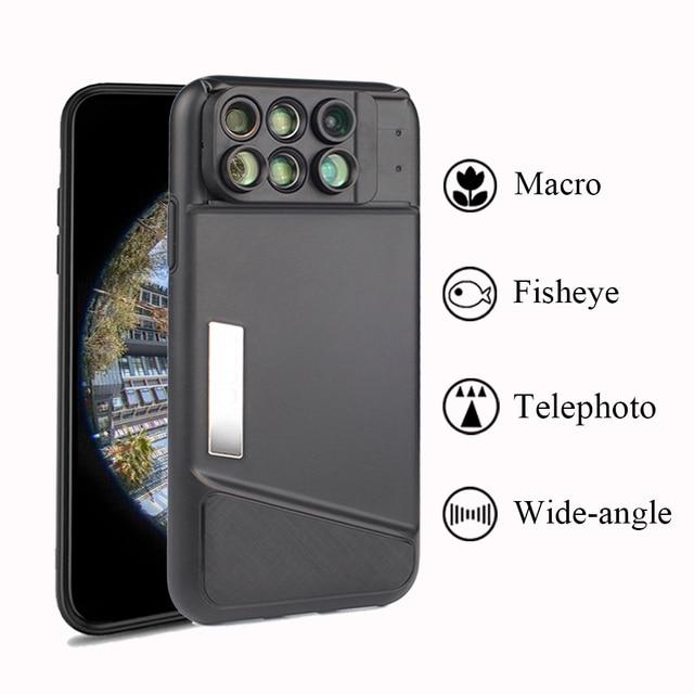 half off 917fd 92190 R$ 147.88 9% de desconto|Dupla Lente Da Câmera Para o iphone X 160 Graus  Fisheye Lens Wide Angle Lens Macro 20X Lente do Telescópio com Caso Para ...