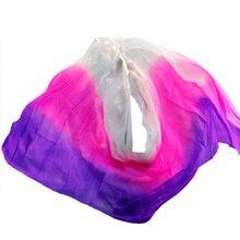 W nowym stylu welony do tańca brzucha 100% welony jedwabne ręcznie stopniowany kolor można dostosować