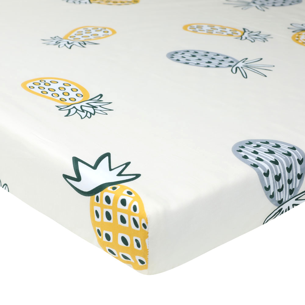 105*60cm The Best Gift Newborn Baby Crib Fitted Sheet Soft Breathable Baby Bed Mattress Cover Potector Cartoon Newborn Bed