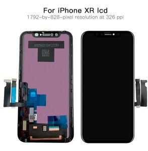 Image 4 - AAA + + + OLED iPhone X XR XS LCD ekran değiştirme ile 3D dokunmatik meclisi gerçek ton hiçbir ölü piksel
