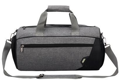 Waterproof Gym Bag Fitness Handbag Women Men Shoulder Bags Crossbody Travelling Luggage Shoes Storage Pocket Basketball XA299WA