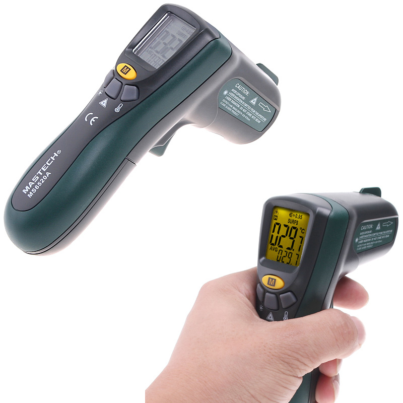 digital Infrared thermometer termometro infravermelho tempers
