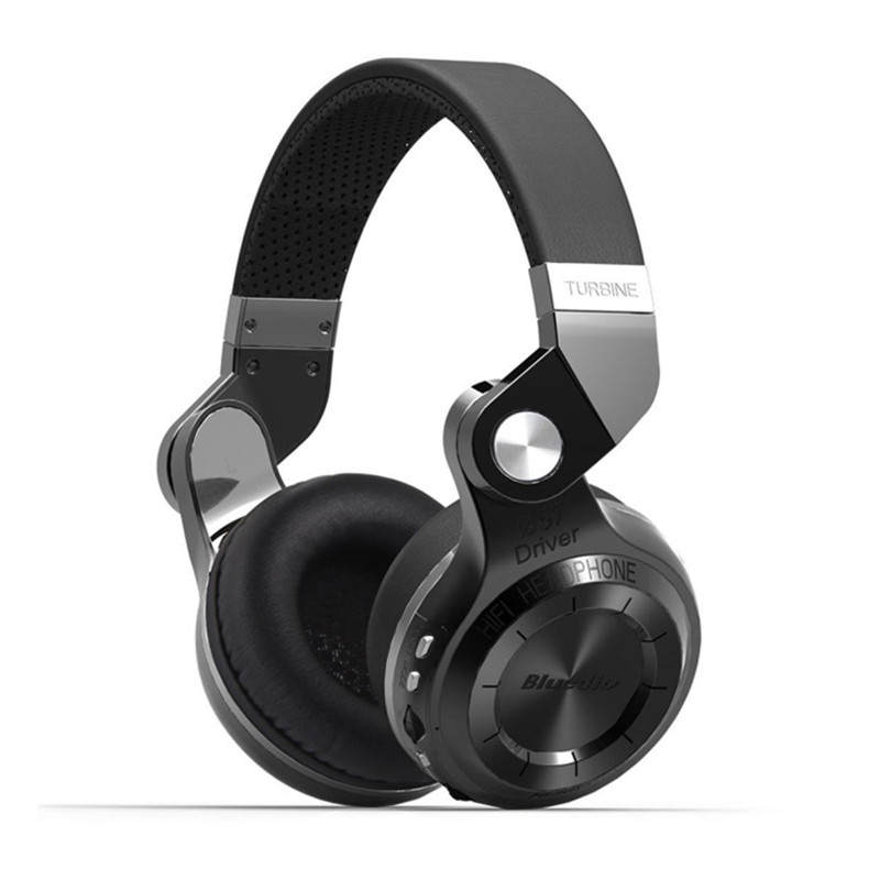 Bluedio T2+ fashionable foldable over the ear bluetooth headphones BT 4.1 support FM radio& SD card functions Music calls (5)