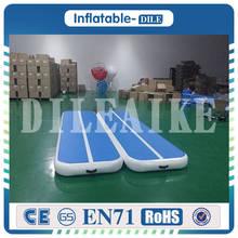 DILEAIKE Airtrack(8 цветов) 400x100x20 см надувной воздушный тренировочный воздушный коврик для домашнего использования/гимназии/Черлидинга/йоги