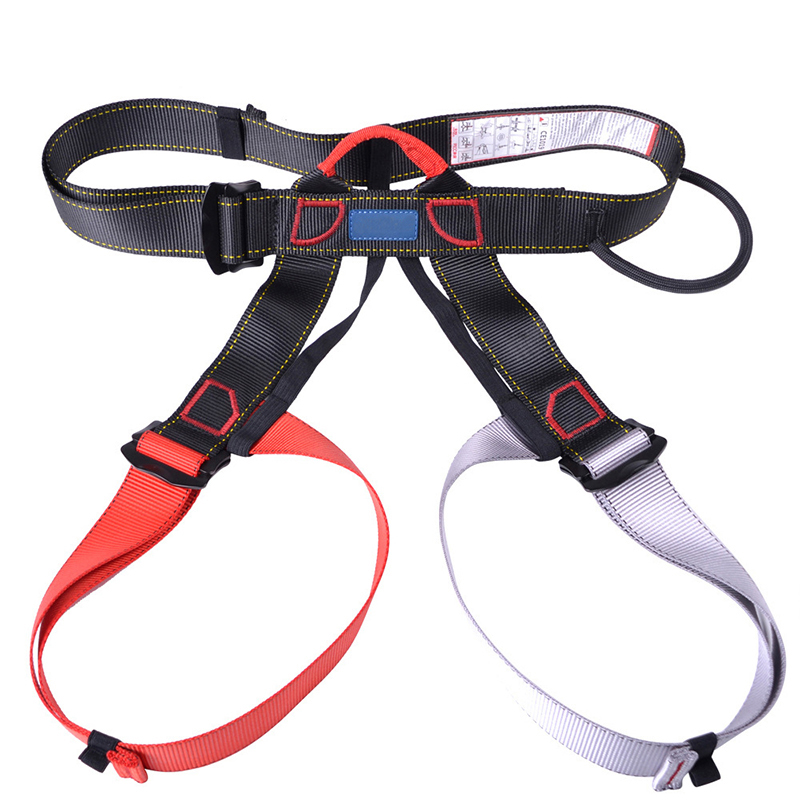 Safety Harness Seat Belts For Outdoors Camping Rock Climbing High Altitude Seat BeltDownhill Equipment Half Body Safety Belt