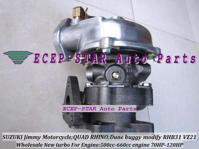 Бесплатная доставка RHB31 VZ21 13900 62d51 vj110069 turbo для Suzuki Swift SX4 Лиана grand vitara 500 660cc мотоциклетные 4tna YA1 f6at f6a