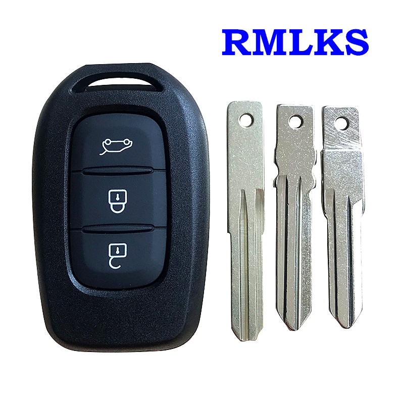 New Replacement 3 Buttons Remote Key Shell Case Fob For Renault Duster Trafic Clio4 Master3 Logan Dokker 2013-2017