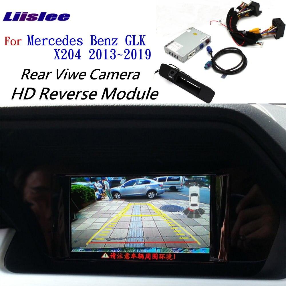 Rear View Camera For Mercedes-Benz GLK X204 2013~2019 Adapter Original Screen Upgrade Display Backup Camera Decoder