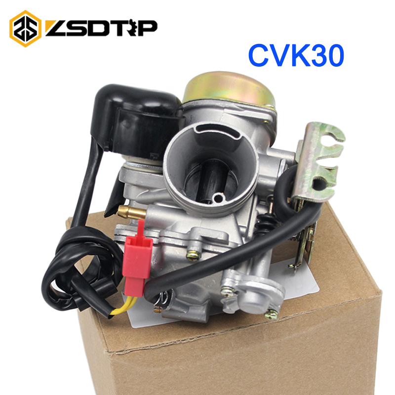 ZSDTRP with heater CVK30 AN250 motorcycle Carburetor for AN250 Skywave /Burgman Linhai Aeolus VOG 260 300 TANK 260 YP250 motorcycle cylinder kit 250cc engine for yamaha majesty yp250 yp 250 170mm vog 257 260 eco power aeolus gsmoon xy260t atv page 4