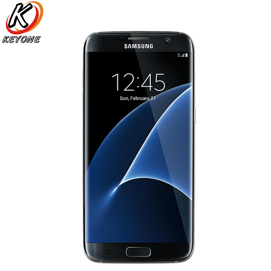 Original Versão Verizon Samsung Galaxy S7 Borda G935V LTE Mobile Phone 5.5 Quad Core 4 GB RAM 32 GB ROM 12MP Android Telefone Inteligente
