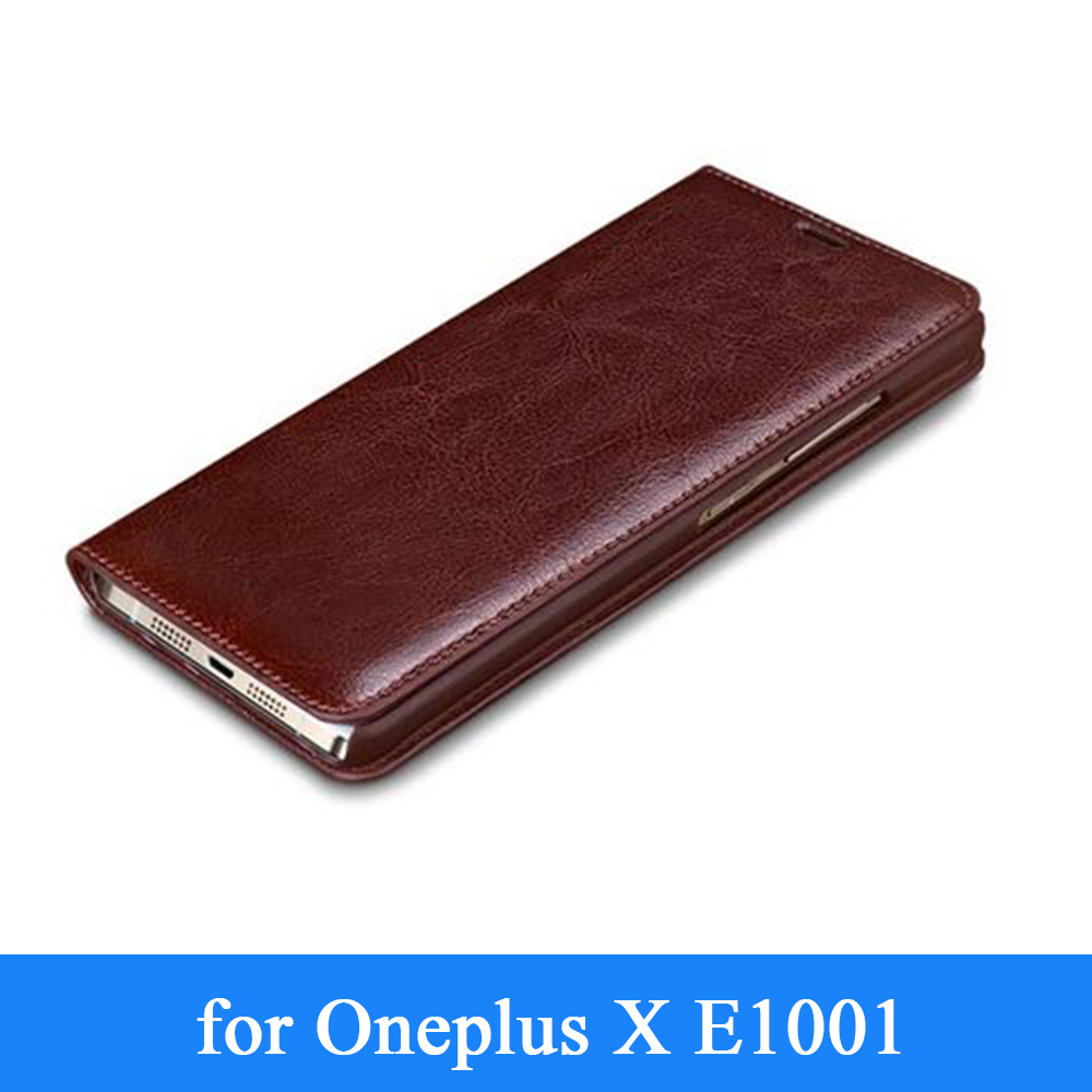 reputable site 96762 cdcaf US $23.65 9% OFF|Custom Case for 1+ X New Arrival Luxury Genuine Leather  Case for OnePlus X E1001 Flip Business Phone Cover Skin for One Plus X-in  ...