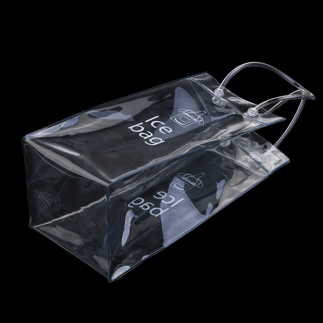 Transparent Soft Bottle Ice Bag