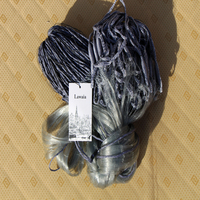 Lawaia Finland Nets Grid Refers 5cm Monofilament Fishing Nets 30m Nylon Throwing Cast Network Practical Fishing