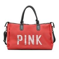 2018 Black Red Gym Bags Sport Bag for Women Fitness training Shoulder Lady's Bag Women's Travel Handbag 4 colors
