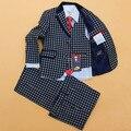 Primavera e Outono novas crianças Desempenho ternos ternos menino pequeno terno flores children's roupas desempenho trajes YF133