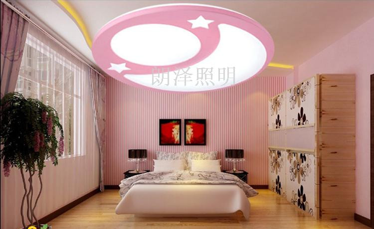 ộ_ộ ༽Creative cartoon LED remote control dimming children\'s ceiling ...