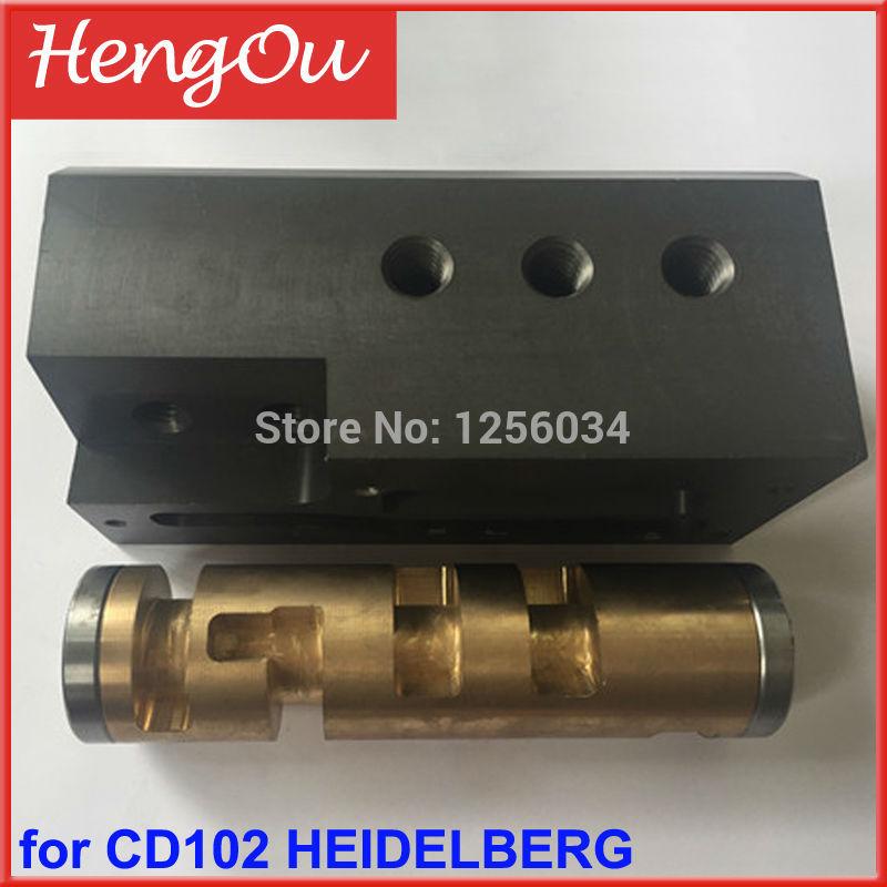 1 piece printer parts for Heidelberg CD102 feeder valve 1 set heidelberg sm102 cd102 mo machine parts feeder valve for heidelberg 66 028 301f mv 026 847