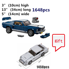 Buy 10265 and send 10264 as a gift Technic Series 1967 Mustang GT Car  Building Blocks Bricks Children Model Gifts Toys