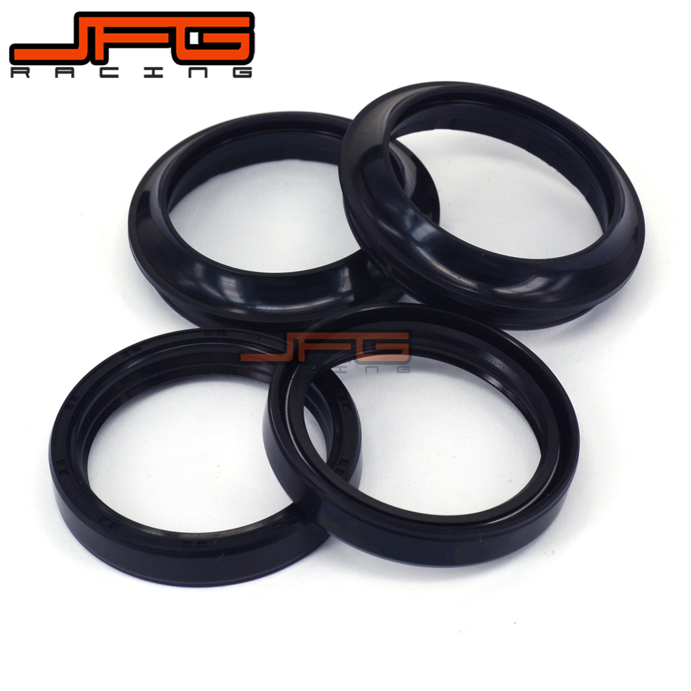 Motorcycle Parts Front Fork Damper Oil Seal + Dust seals For KTM SX XC EXC MXC SXS LC4 85 105 125 200 250 300 400 640 Dirt BikeMotorcycle Parts Front Fork Damper Oil Seal + Dust seals For KTM SX XC EXC MXC SXS LC4 85 105 125 200 250 300 400 640 Dirt Bike
