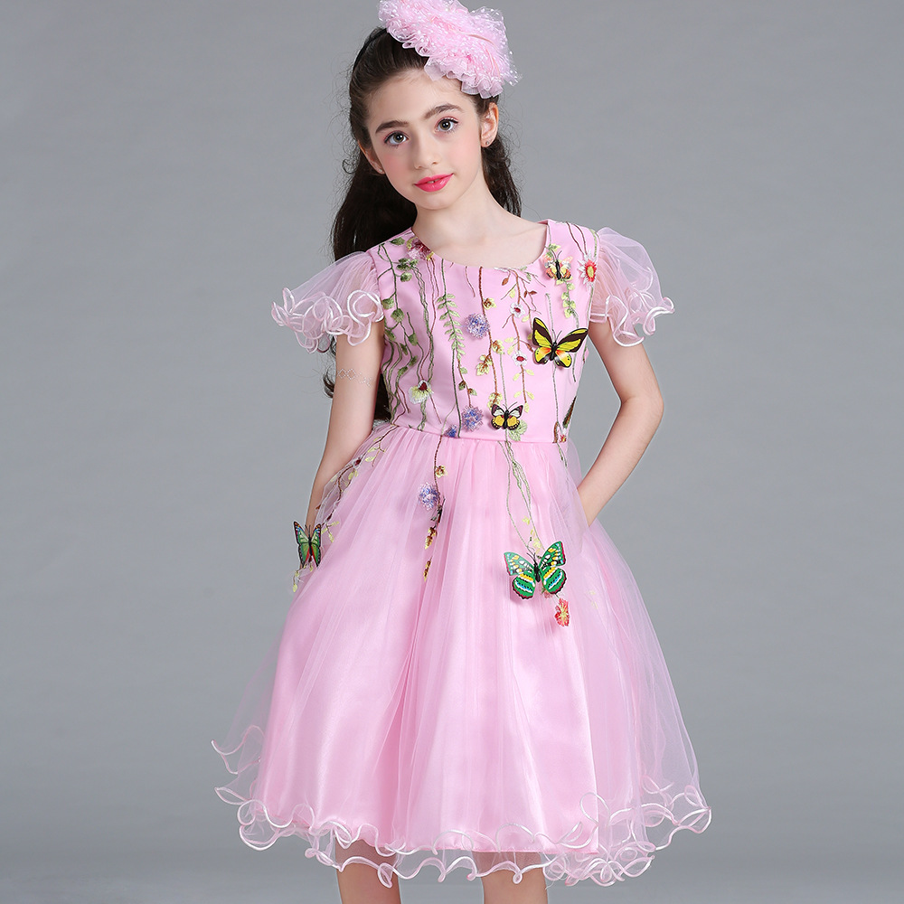 Fantástico Vestido De Fiesta De La Mariposa Viñeta - Ideas de ...