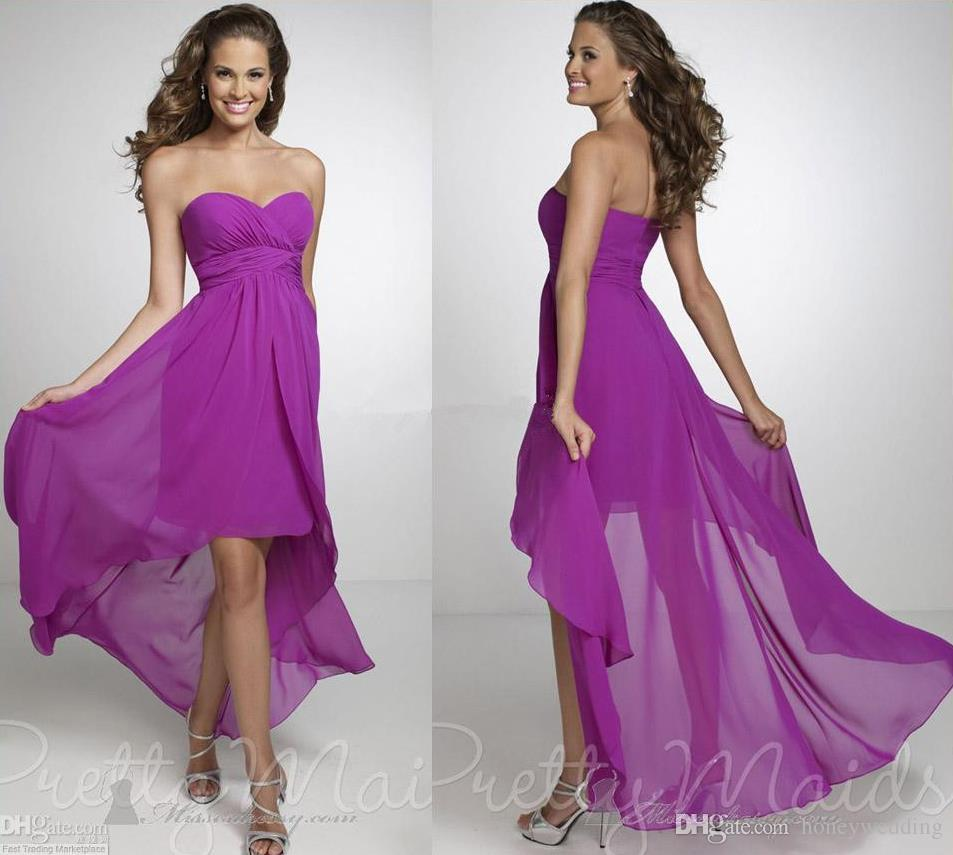 2015 high low purple bridesmaid dresses cheap chiffon maternity 2015 high low purple bridesmaid dresses cheap chiffon maternity wedding party dress plus size beach maid of honor bridesmaids go on aliexpress alibaba ombrellifo Gallery