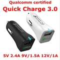 Lwizing Quick Charge 2.0 Car Charger Fast Quick 12W Car-Charger for Xiaomi Mi5 Samsung Galaxy S6 S5 LG G3 Nexus 5X 6P Charger