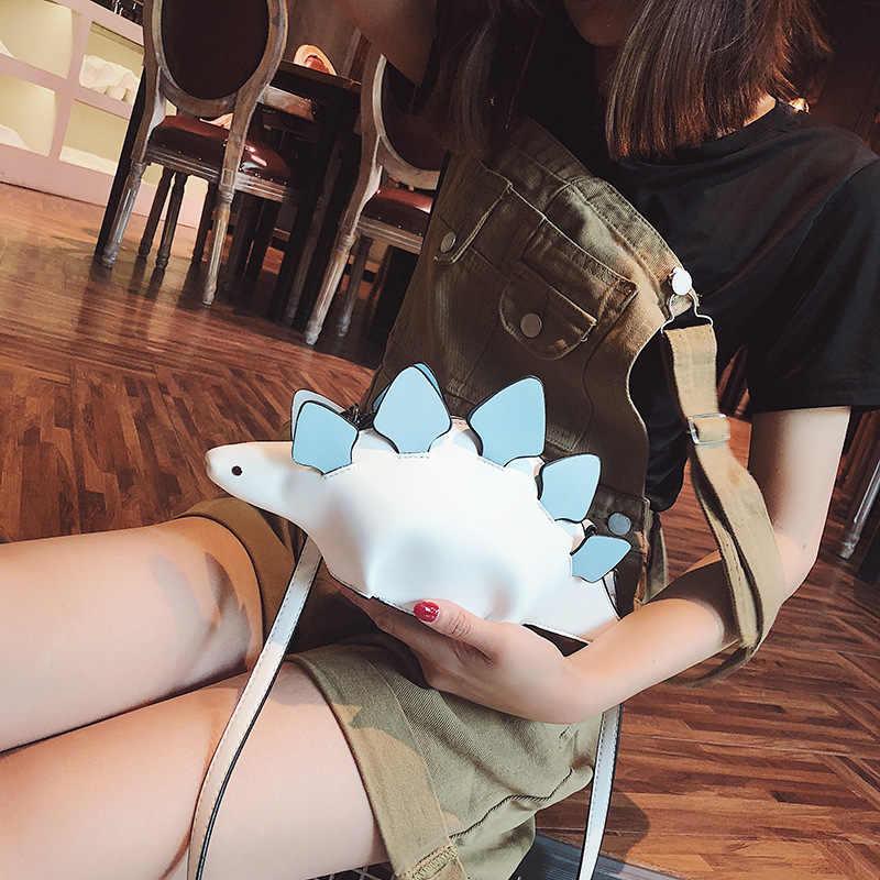 Pesonality стильная сумка динозавр сумка через плечо цветная блочная креативная Сумочка женская уникальная эксклюзивный клатч симпатичная сумочка лучший подарок
