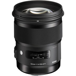 Sigma 50mm F1.4 DG HSM ART DSLR Lens For Nikon