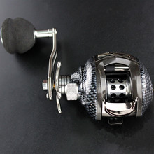 power Low-Profile reel high strength lure baitcasting reel 13+1BB 6.3:1 free shipping