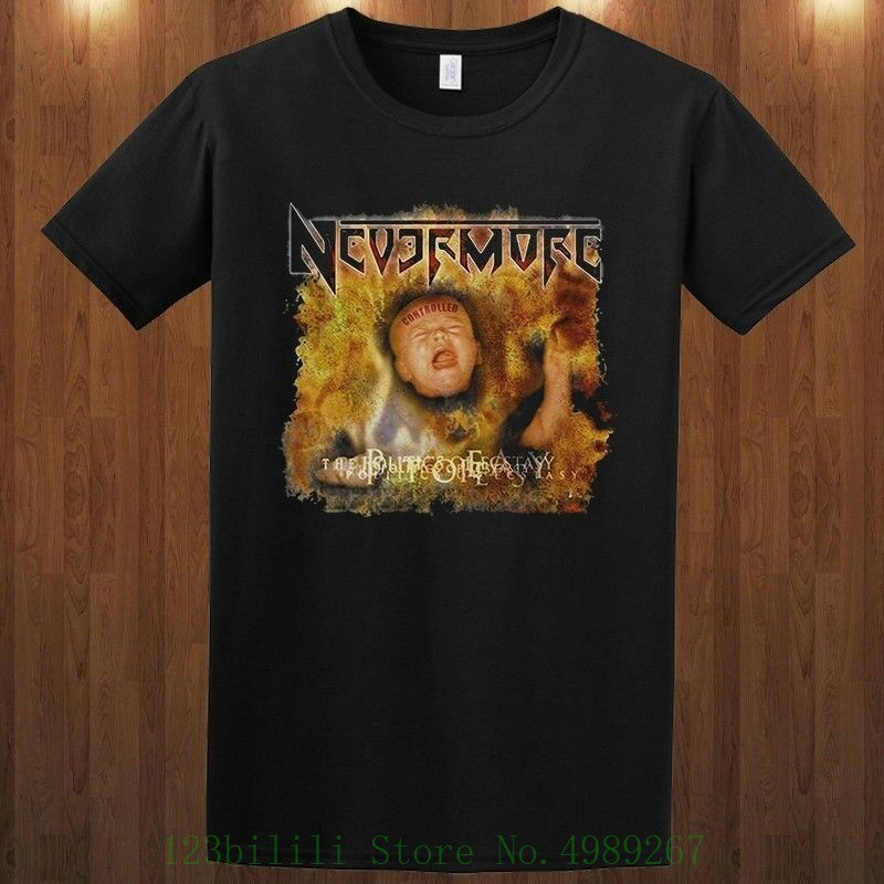 Nevermore T Shirt Progressive Metal Band Warrel Dane S M L Xl 2xl 3xl Tee Tee Shirt Unisex More Size And Colors image