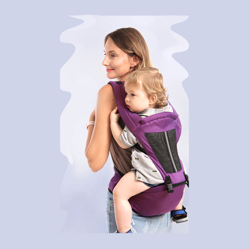 Nouveau 2019 3D respirant porte-bébé multifonction coton porte-bébé sac à dos enfant porteur enfant en bas âge écharpe Wrap bretelles