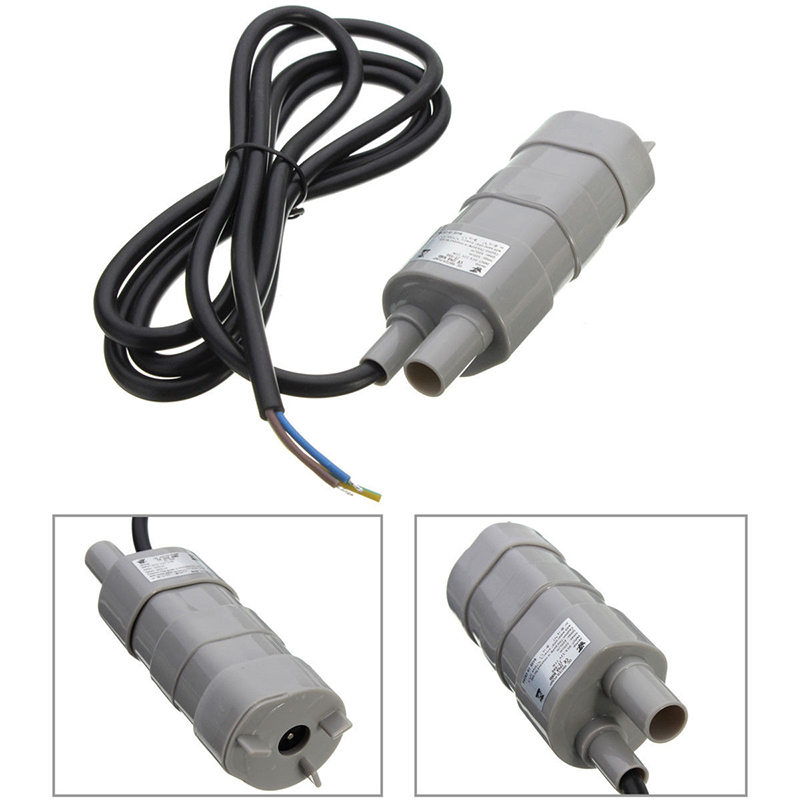600L/H 5M Under Water Aquarium Bath Submersible Immersible Pump DC 12V 1.2A For Watering the Garden ...