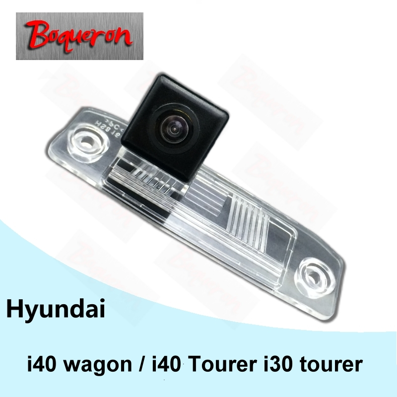 For Hyundai I40 Wagon / I40 I30 Tourer CCD/Night Vision Backup Reverse Camera Reverse Car License Plate Rear View Camera