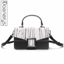 Daenerys Fashion Women Leather Handbags Female Small Shoulder Bag Clutch Purse Messenger Crossbody Bags Totes For Girls