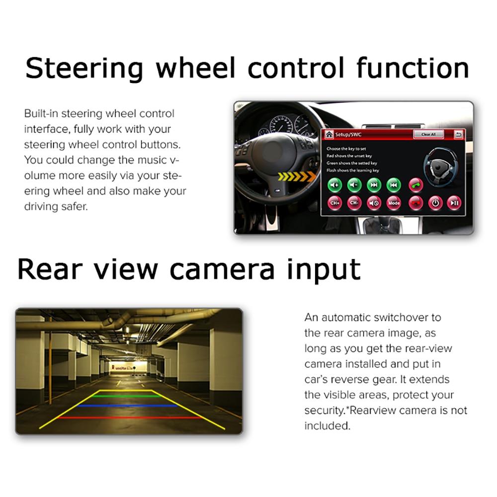 A-Sure 2 Din Car Radio DVD GPS- ը նստած էր մեքենայի - Ավտոմեքենաների էլեկտրոնիկա - Լուսանկար 4