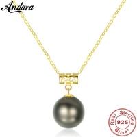 Настоящее чистое 18 К Золотое ювелирное изделие 6 цветов натуральный жемчужный кулон ожерелье s модное простое женское ожерелье