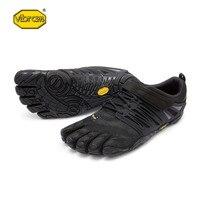 Vibram fivefingers V поезд Лидер продаж Дизайн резиновая с пятью пальцами открытый противоскользящая дышащие легкий вес обуви для Для мужчин