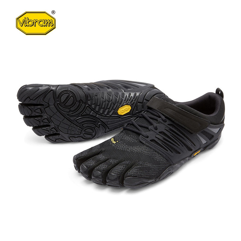 цена Vibram fivefingers V-Train Hot Sale Design Rubber with Five Fingers Outdoor Slip Resistant Breathable Light weight Shoe for Men онлайн в 2017 году