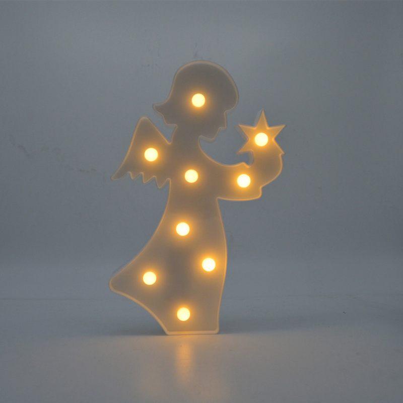 Luzes da Noite bonito candeeiro de mesa mesa Fonte de Luz : Lâmpadas Led