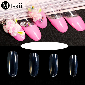 Mtssii 50Pcspack False Nail Tips Color Card Transparent Nail Art Show Manicure Nail Art Practice Display Tools Accessories Маникюр