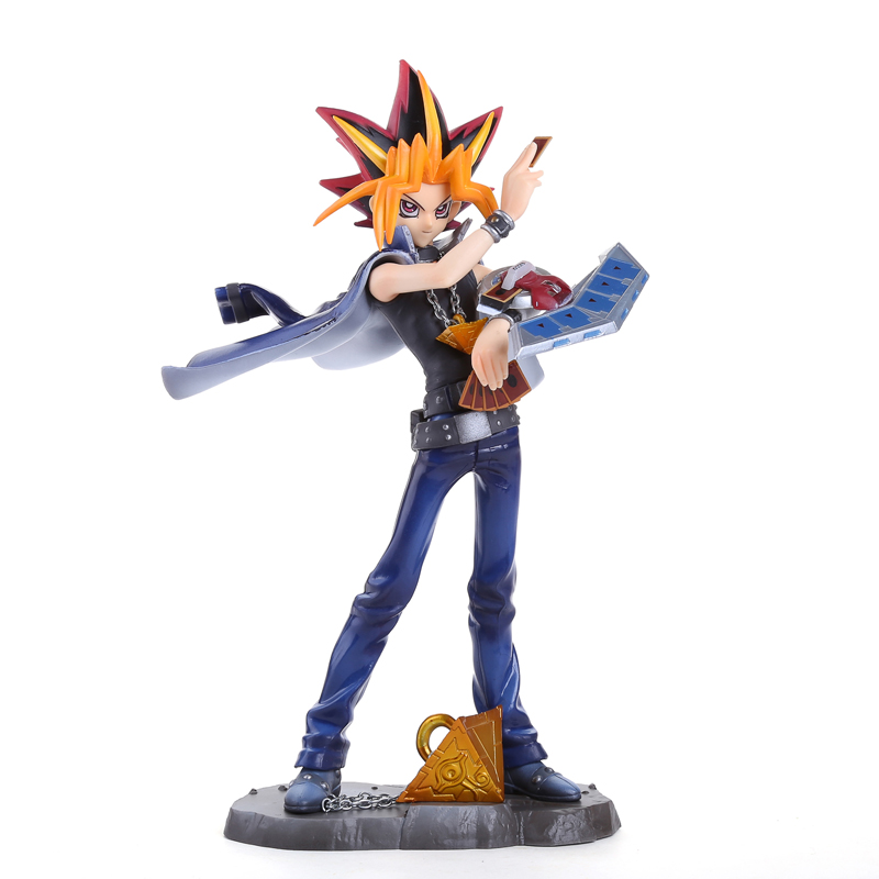 Anime Yu-Gi-Oh! Duel Monster Yami Yugi 1/7 Scale Pre-painted Figure Collectible Model Toy 23cm