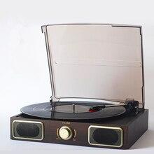 Ностальгический граммофон Виниловый проигрыватель портативный стерео LP проигрыватель ПК компьютер проигрыватель Проигрыватель