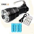 Высокое качество портативный LED фонарик CREE XM-L2 белый/T6 желтый 3800 Люмен охота тактический открытый прожектор фонарик